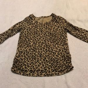 Girls Leopard Shirt